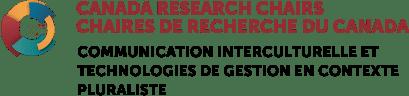 Logo - Chaire de recherche du Canada en communication interculturelle et technologies de gestion en contexte pluraliste (CRC-CITGCP)